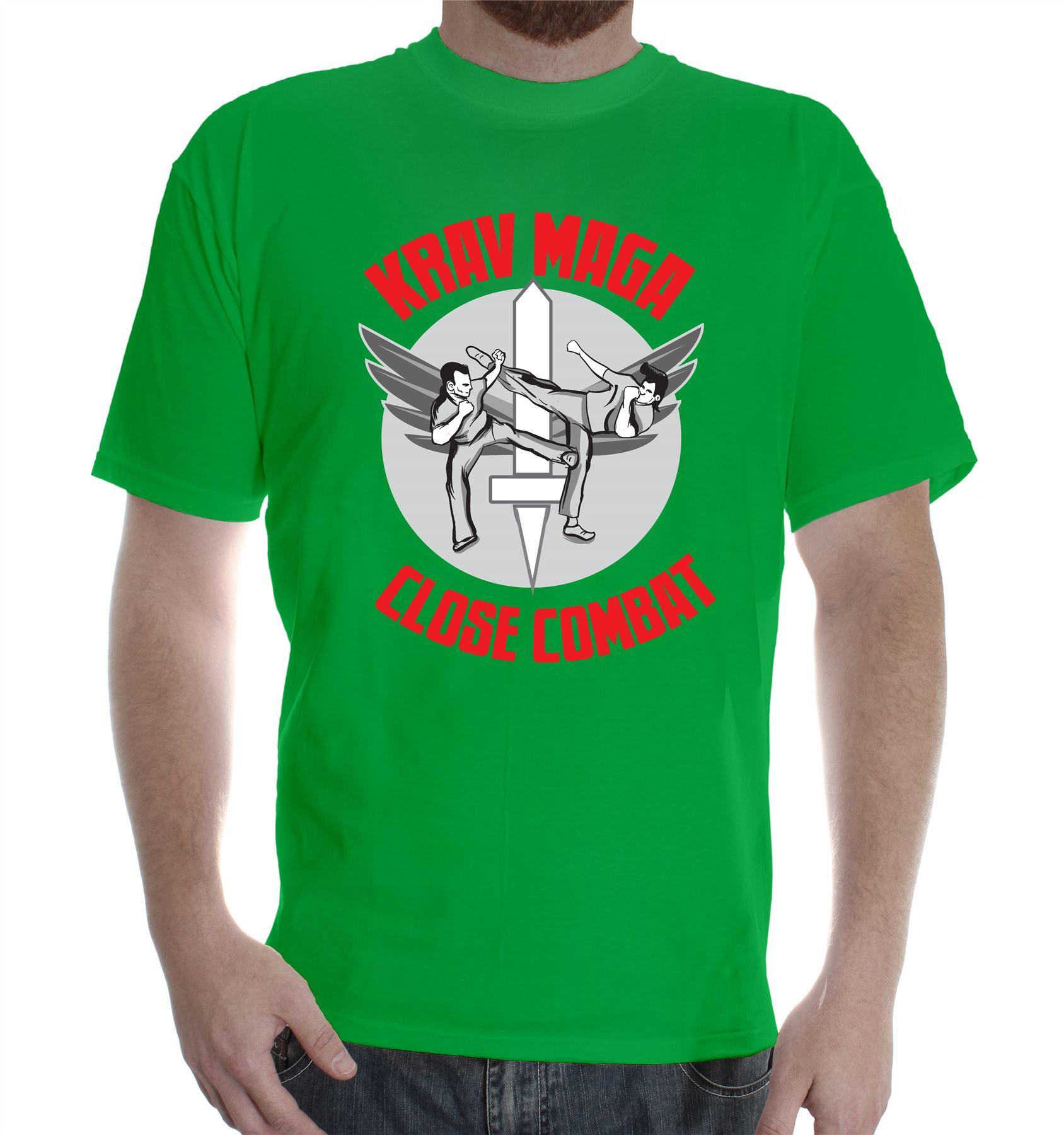 T Shirt Gym Training Combat Wears Krav Maga Mma Fighters