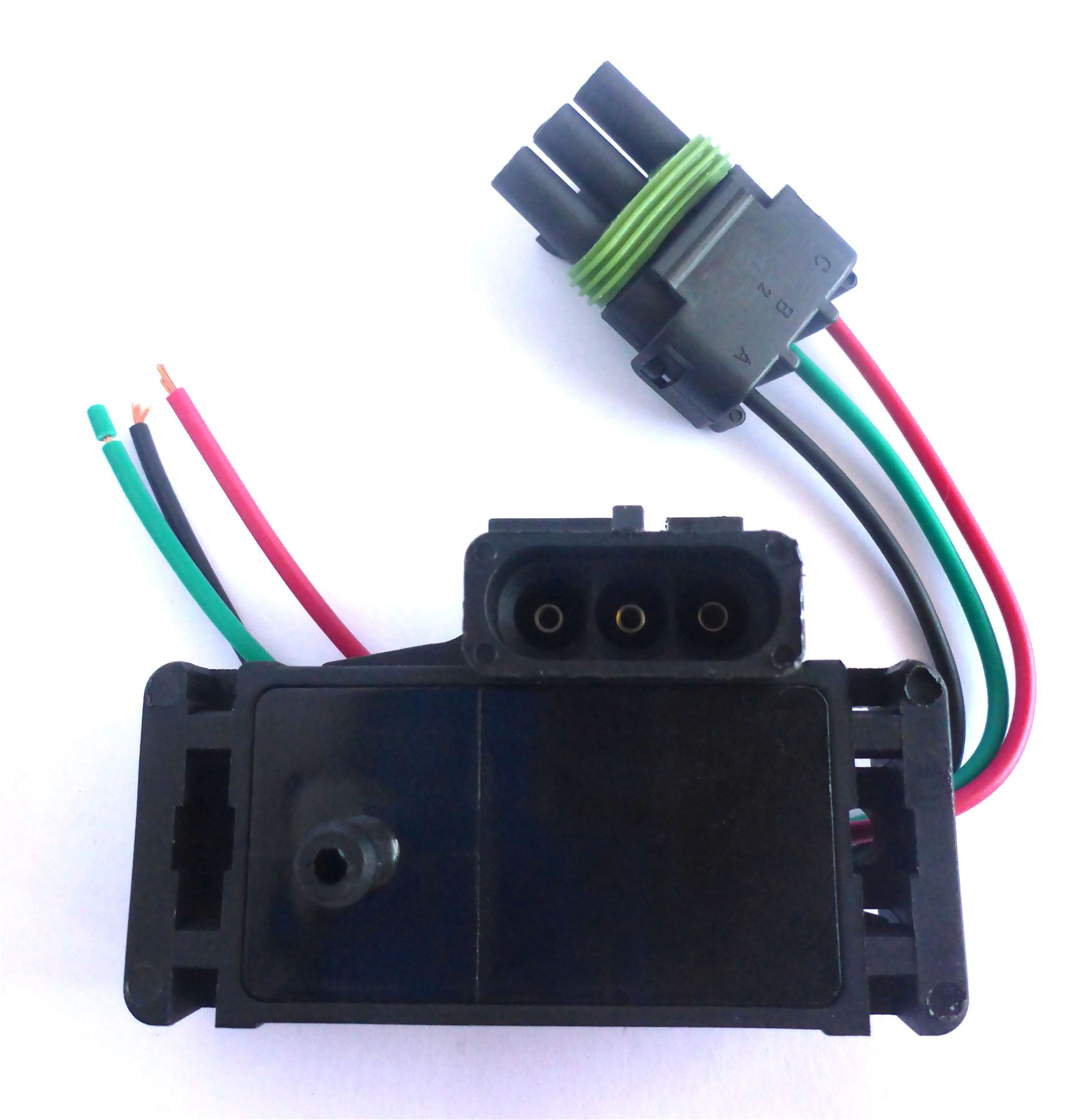 new manifold absolute pressure map sensor w wiring harness fits gm 16017460