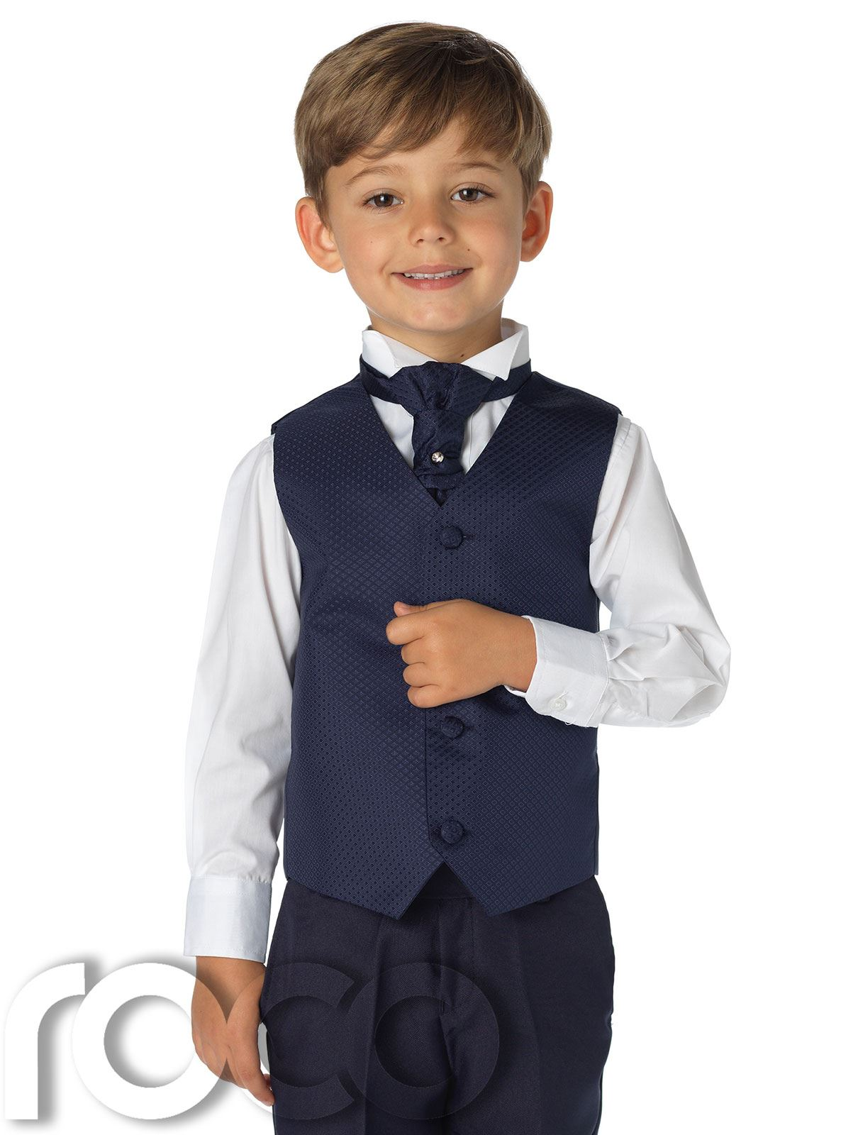 Boys Waistcoats A selection of quality boys waistcoats perfect for page boys at weddings, proms, parties and any special event. With many colours and styles to choose from you'll be able to find a boy's waistcoat perfect for your event.