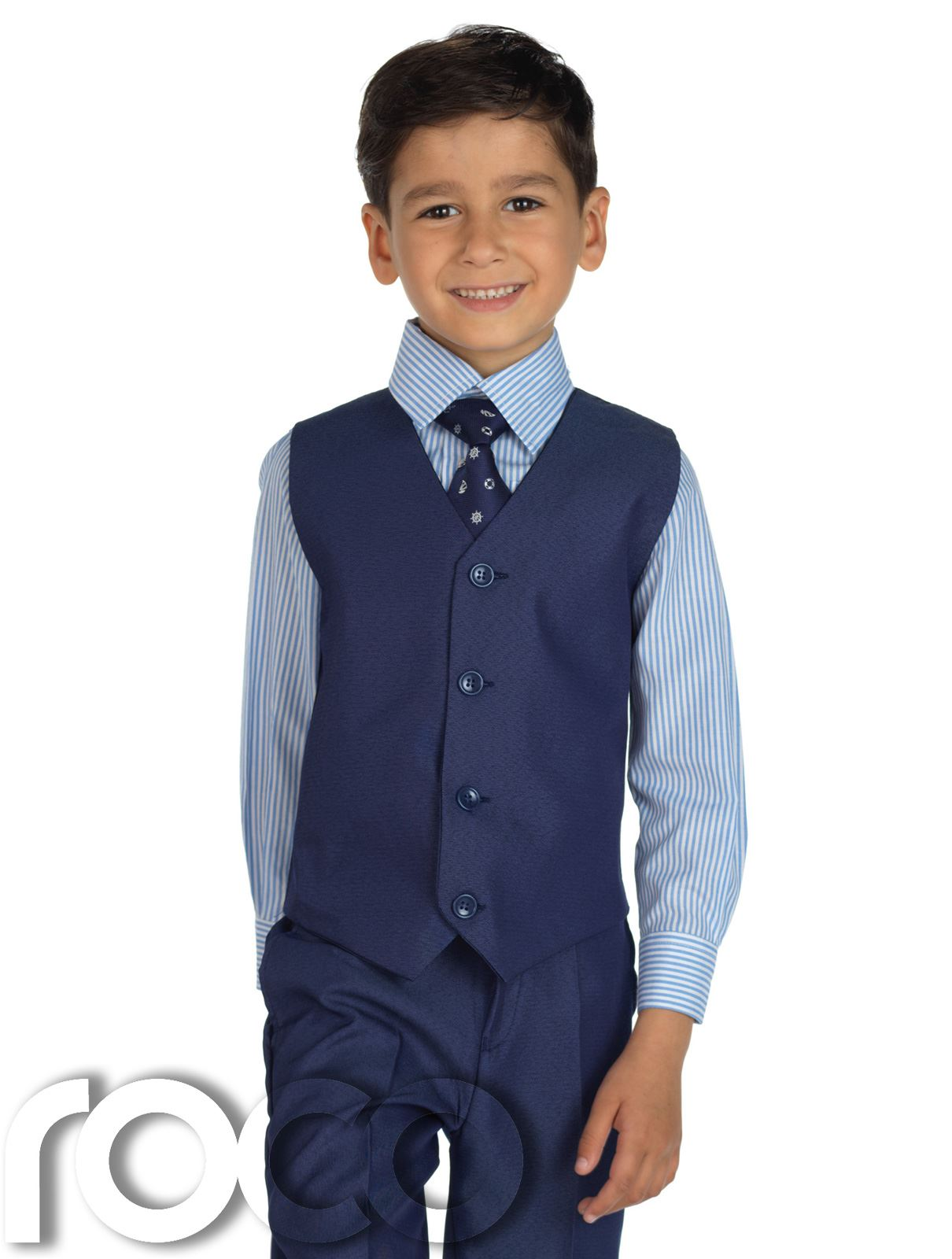 Gino Giovanni Formal Boy Navy Blue Suit From Baby to Teen. Sold by US Fairytailes. $ $ Dockers Infant & Toddler Boys' Necktie, Vest, Dress Shirt & Pants. Sold by Sears. $ $ There will always be a wedding to attend so make sure you kid has a crisp boys' suit.