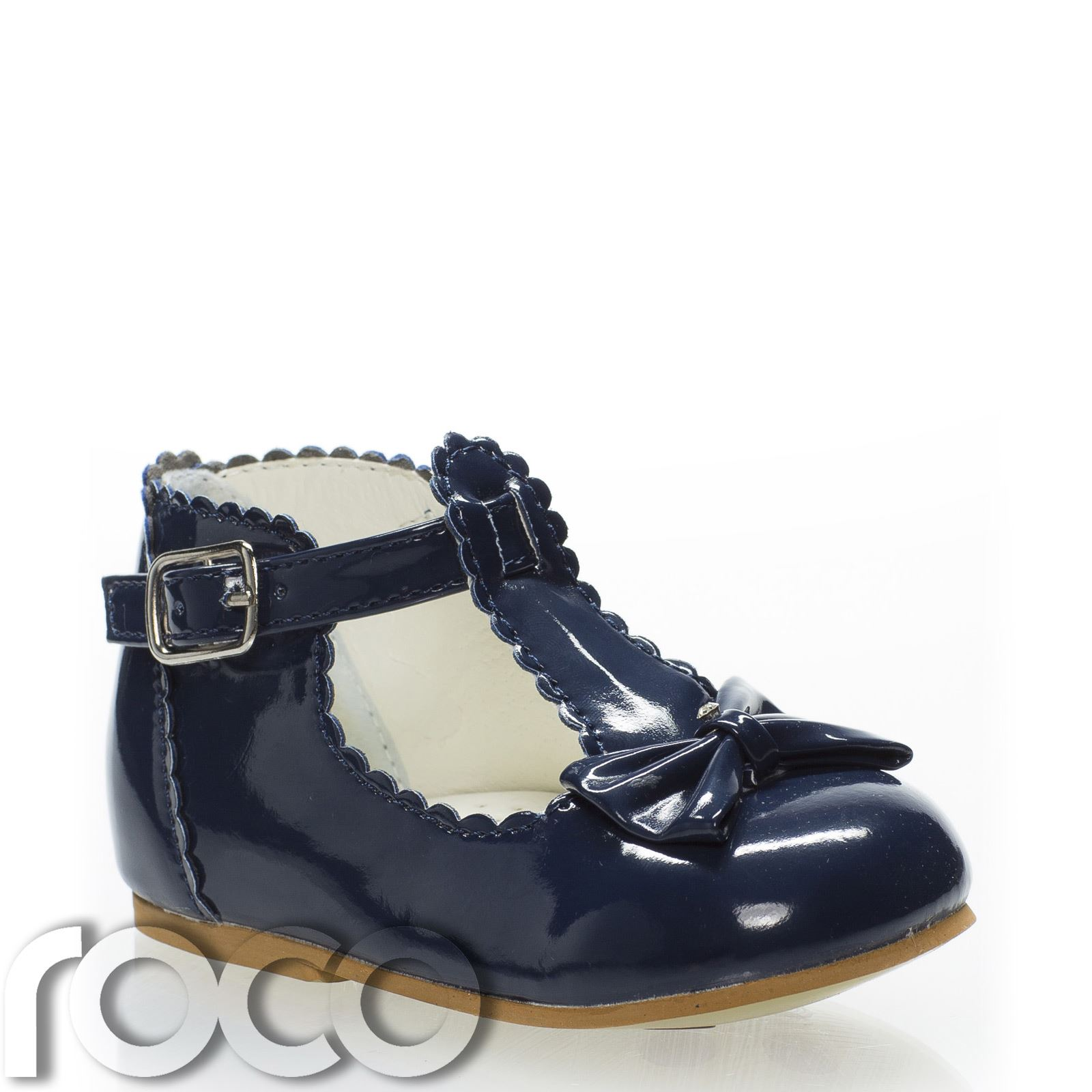 Baby Girls Navy Shoes T bar Shoes Little Girls Shoes