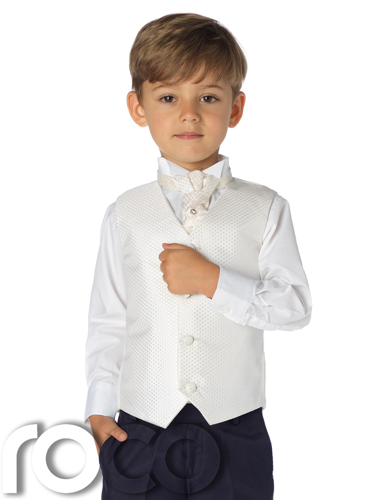 Boys black waistcoat set 'Vincent'. Boys formal waistcoats, available from months - 16 years. More boys formal wear at manga-hub.tk