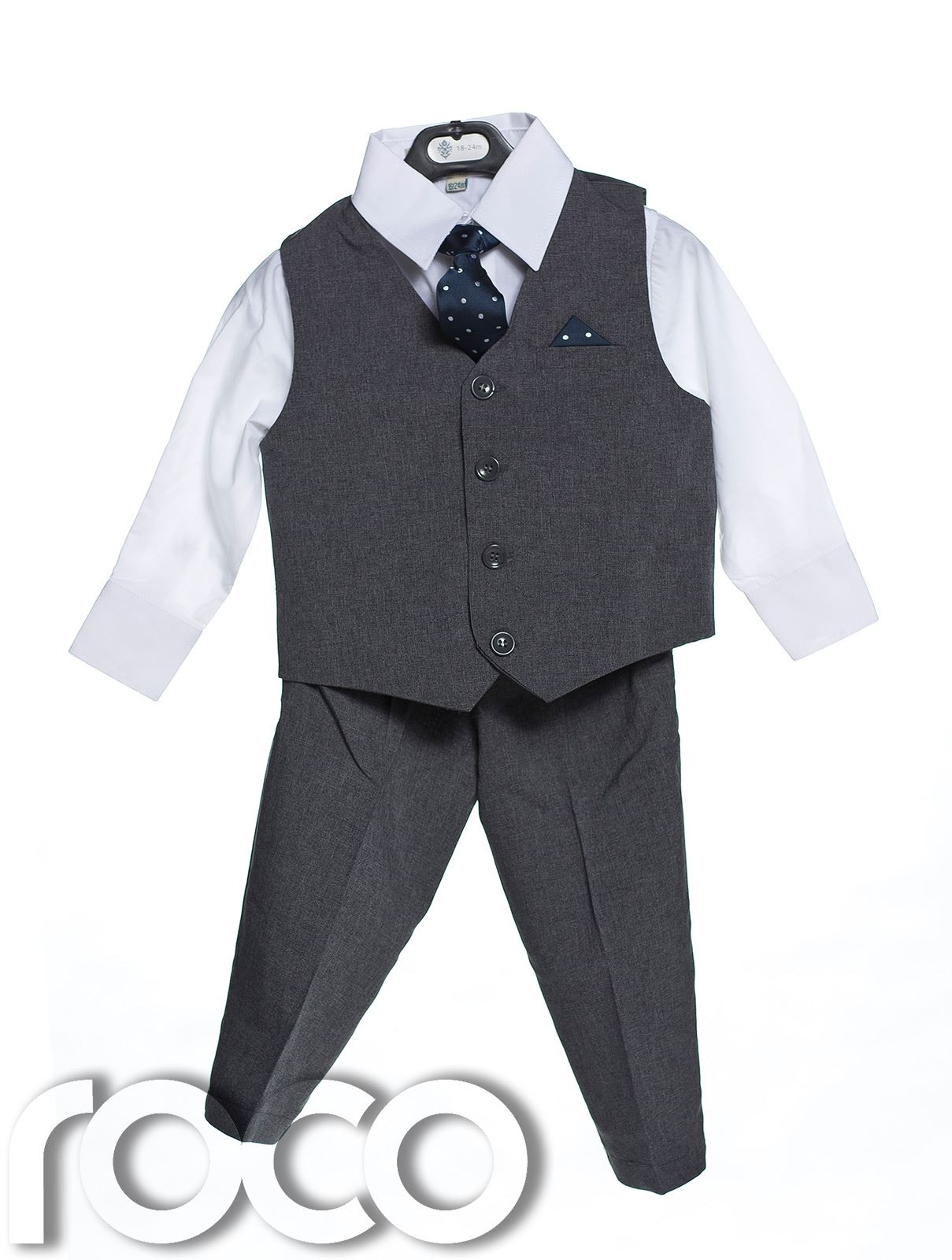 Boys Suits, 4 Piece Waistcoat Suit, Wedding Page Boy Baby Formal ...