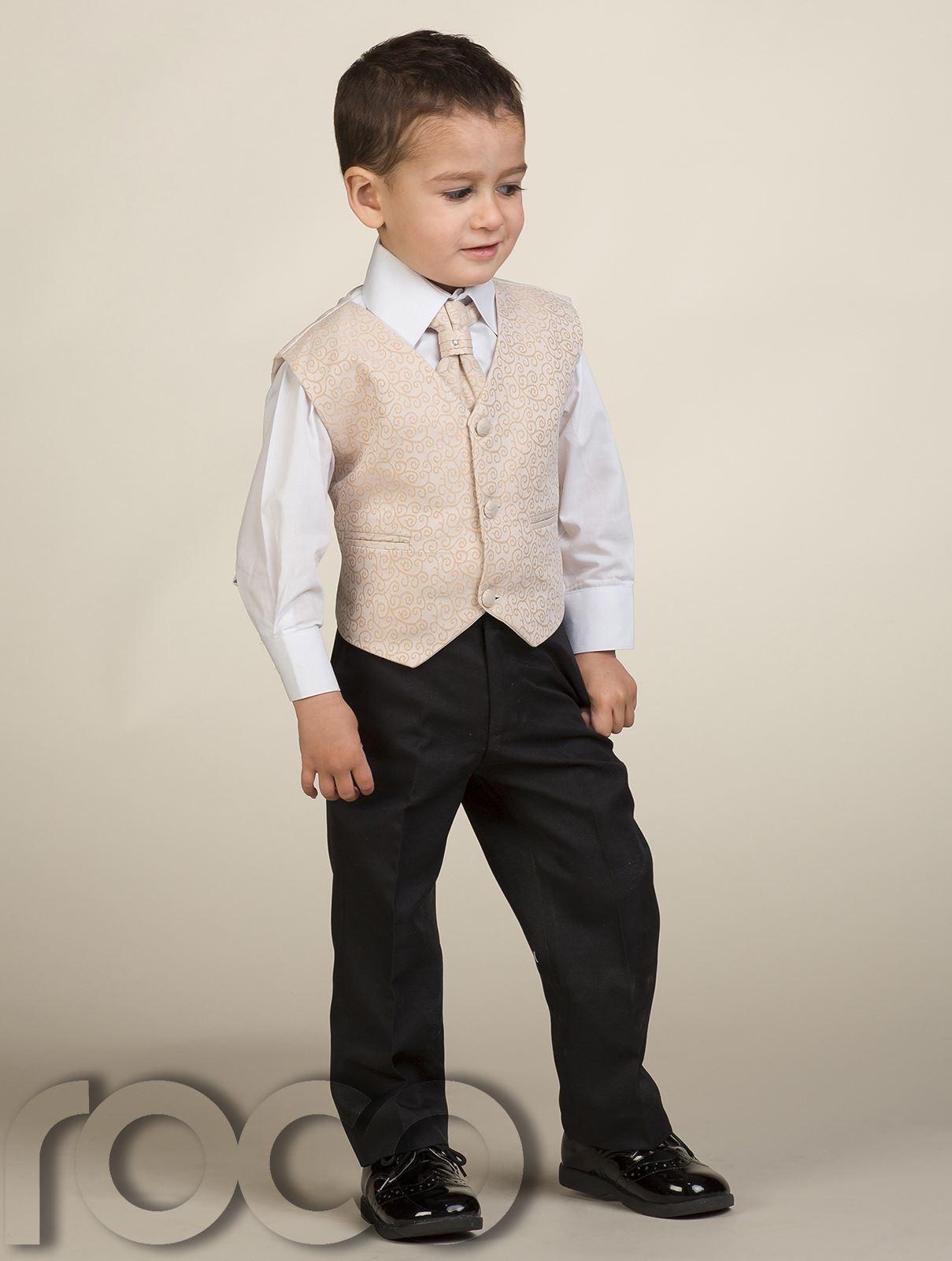 Boys Waistcoat Suit Page Boy Suits Prom Suits Boys Wedding Suit