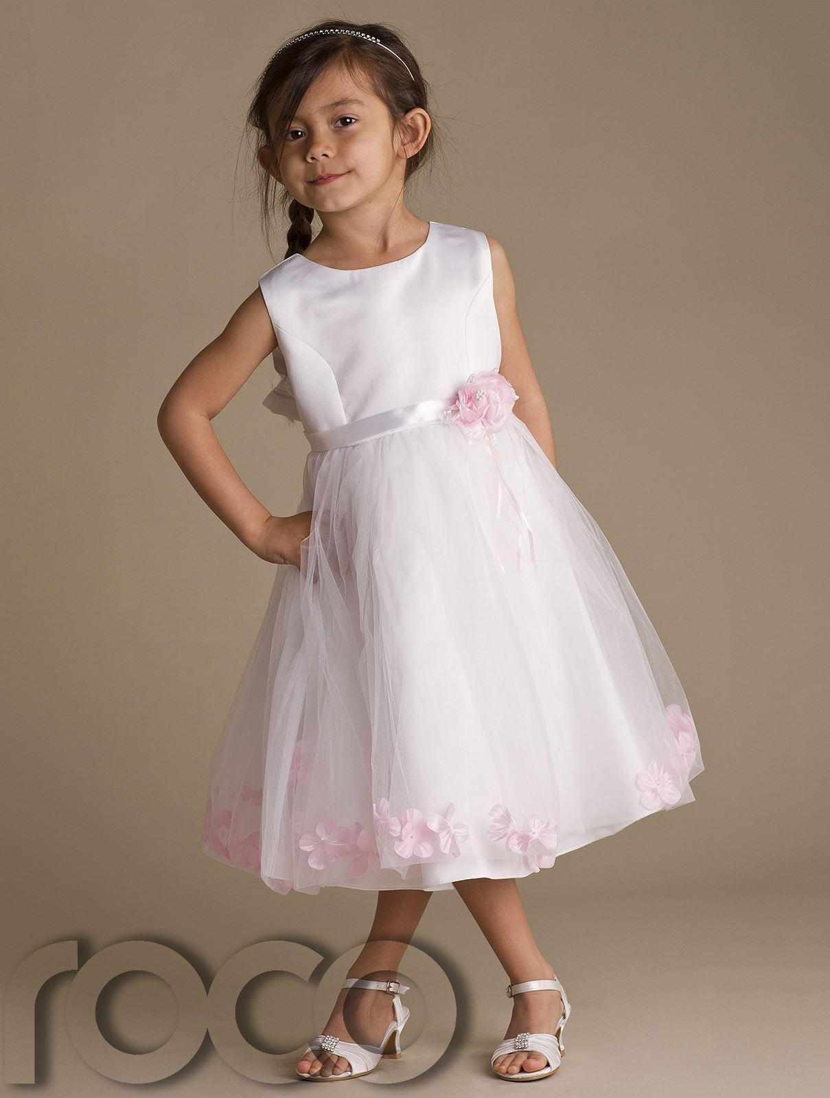 White And Pink Flower Girl Dresses Uk Expensive Wedding Dresses Online