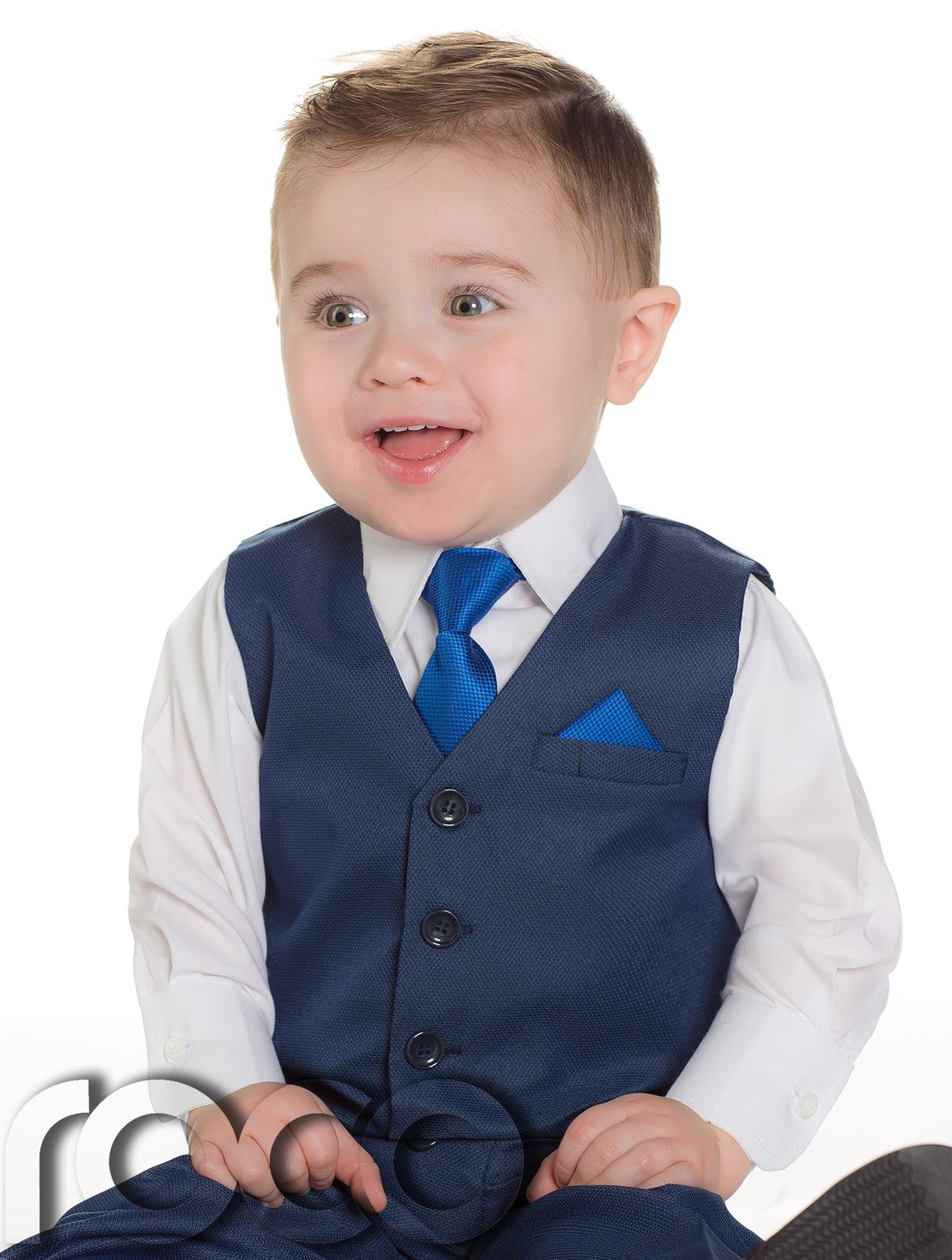 Boys Suits 4 Piece Waistcoat Suit Wedding Page Boy Baby