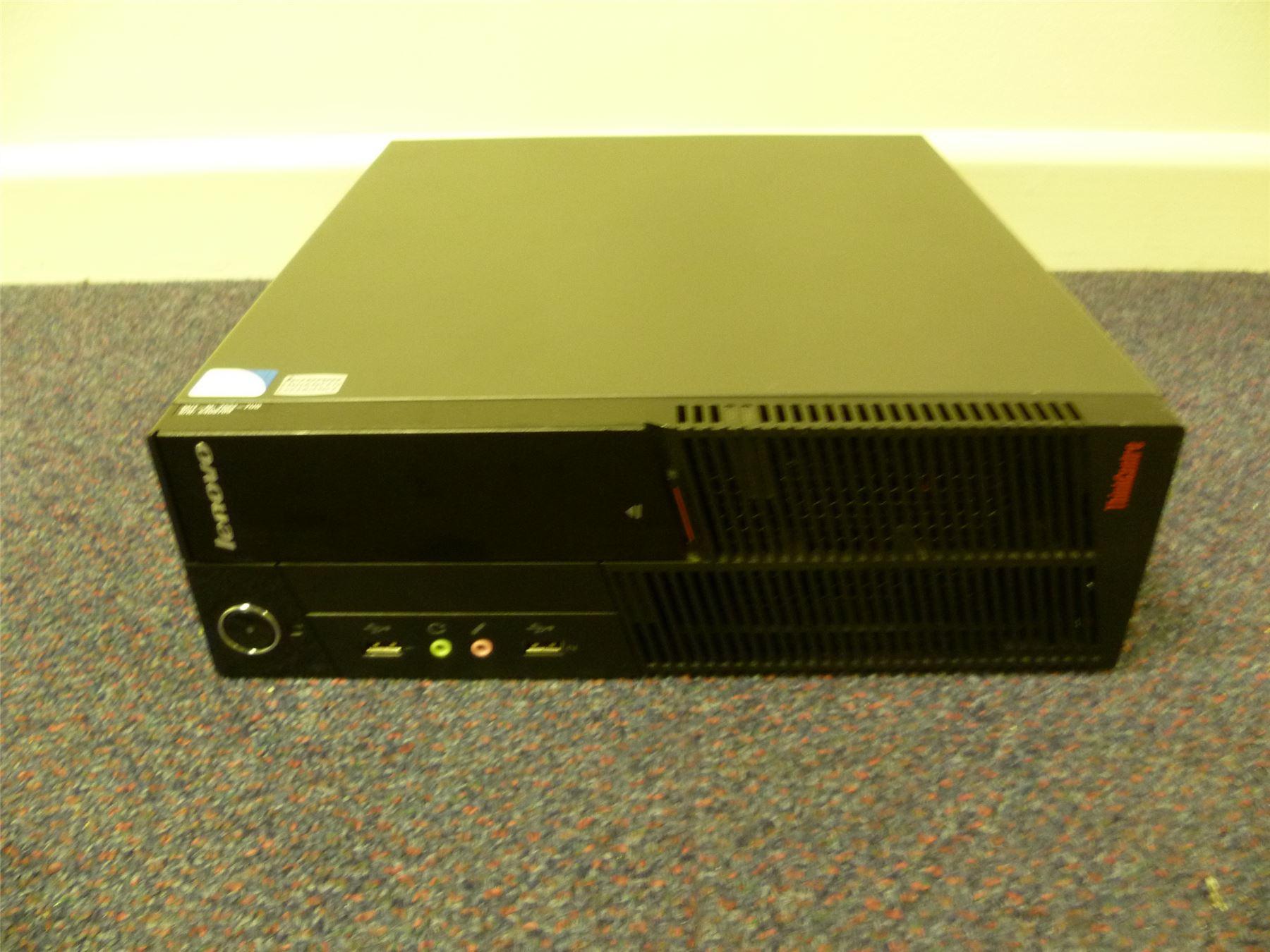 Lenovo-ThinkCentre-A58-Desktop-PC-Windows-7-Pro-2-7GHz-Dual-Core-4GB-320GB