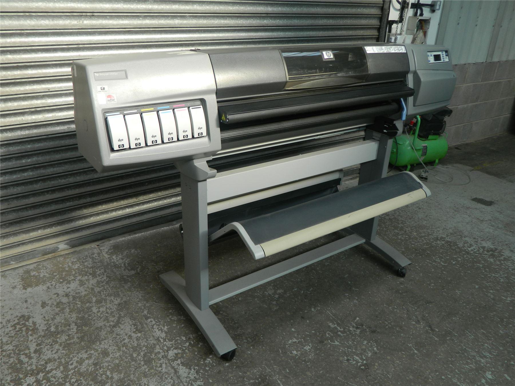 Hp Designjet 5500ps Large Format Inkjet Printer 42