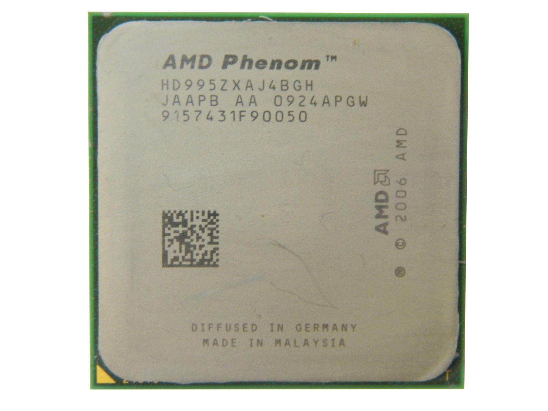 AMD Phenom X4 9950 Black Edition | Quad Core 2.6GHz | AM2+ CPU Processor | eBay