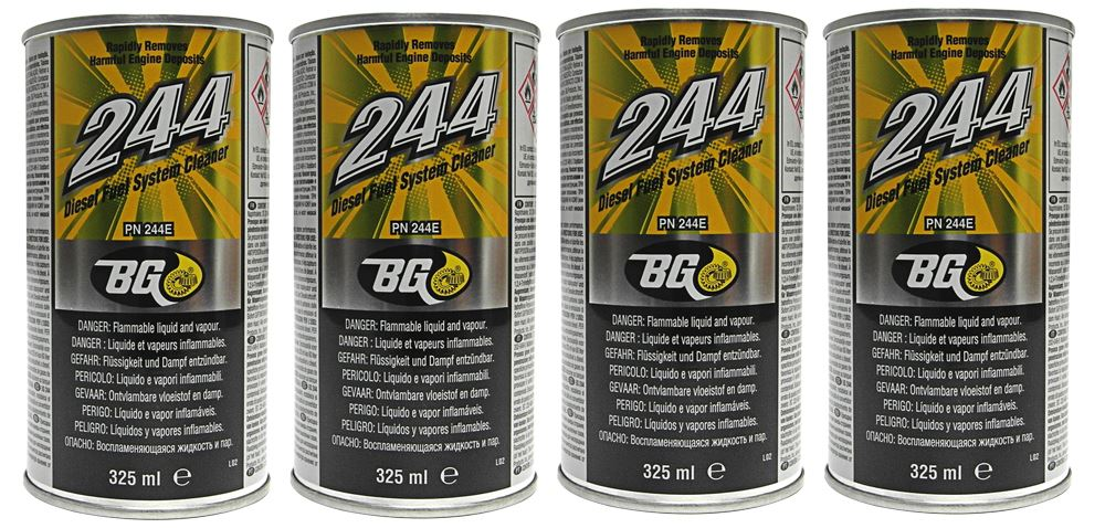 bg244 diesel fuel system cleaner how to use