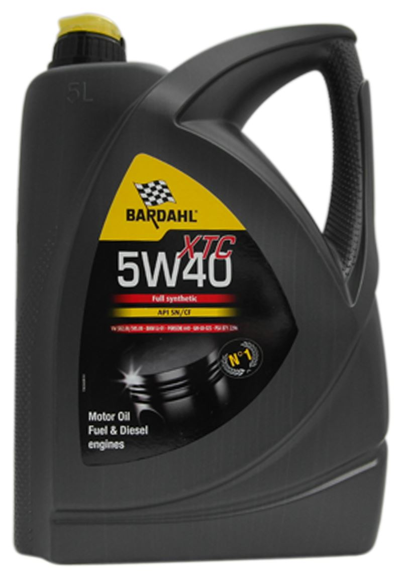 bardahl xtc 5w40 fully synthetic engine oil 5 litre vw. Black Bedroom Furniture Sets. Home Design Ideas