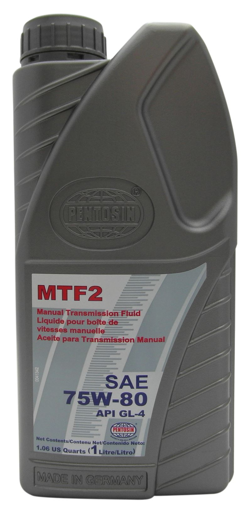 pentosin mtf 2 sae 75w80 synthetic manual gearbox oil 1l. Black Bedroom Furniture Sets. Home Design Ideas