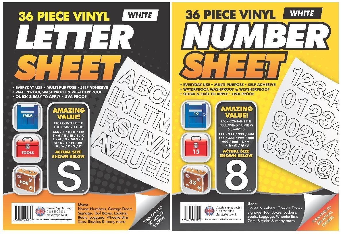 Modern Trendy Self Adhesive Vinyl Letter Number Stickers Boats Car - Vinyl letter stickers for boats