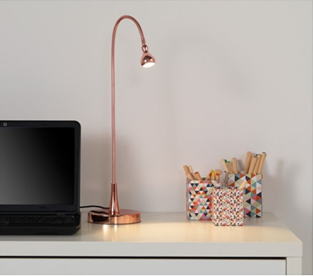 ikea jansjo table modern led flexible lamp desk work light neck reading 5 colour. Black Bedroom Furniture Sets. Home Design Ideas