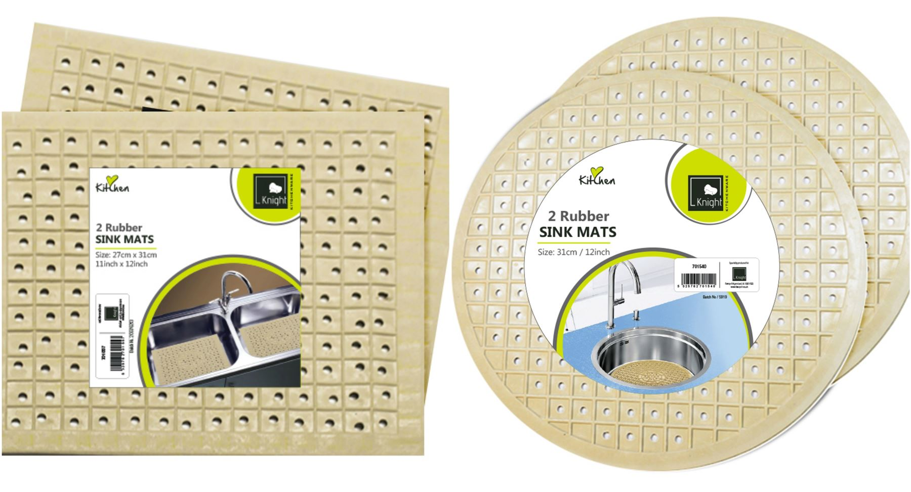 how to clean rubber sink mats