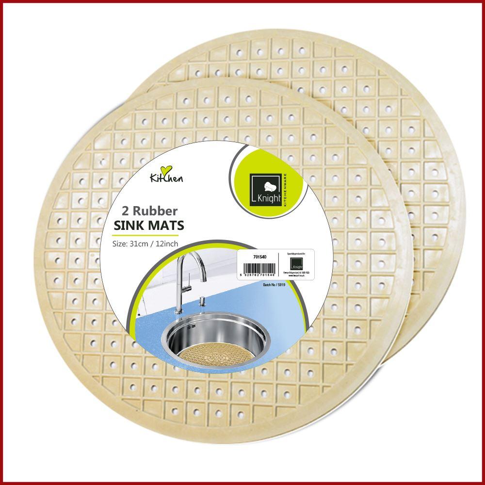 Rubber Sink Mat Non Slip Grip Scratch Protector Liner Dish