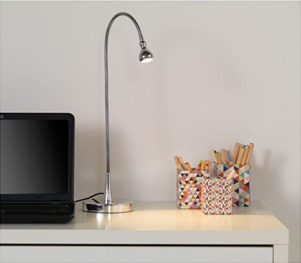 Ikea jansjo led faretto flessibile 5 colori tavolo for Ikea lampada scrivania