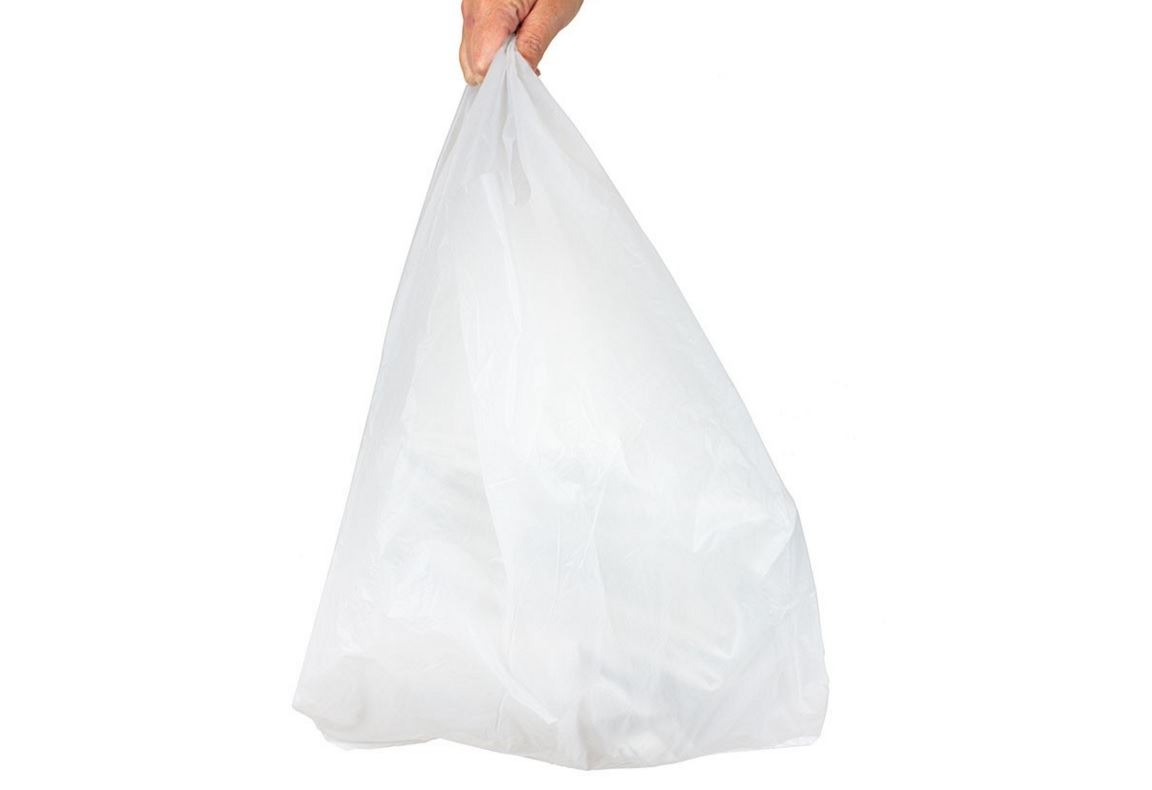 Strong heavy duty plastic vest carrier bags supermarkets for How strong is acrylic glass