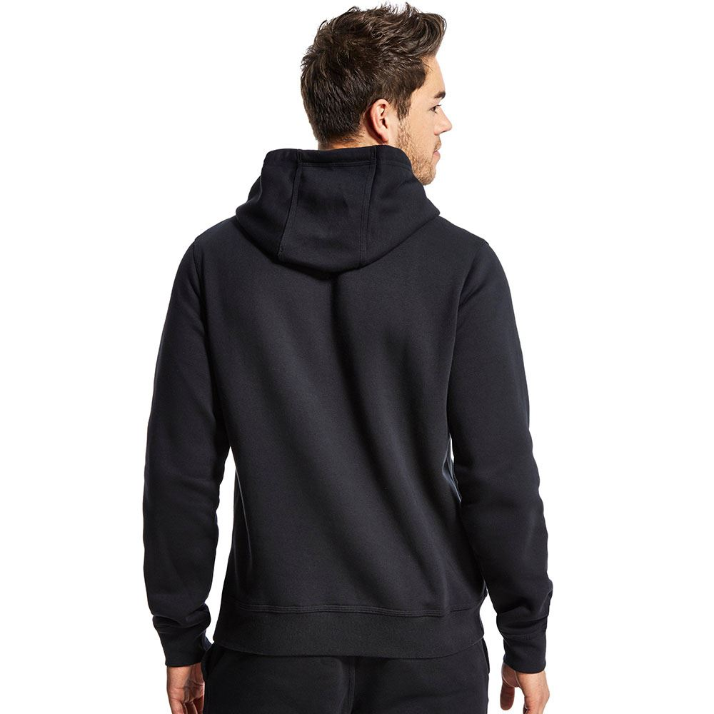 Mens Nike Swoosh Hoodie Black Navy Grey Fleece Hoody Hooded Sweatshirt Top NEW | eBay