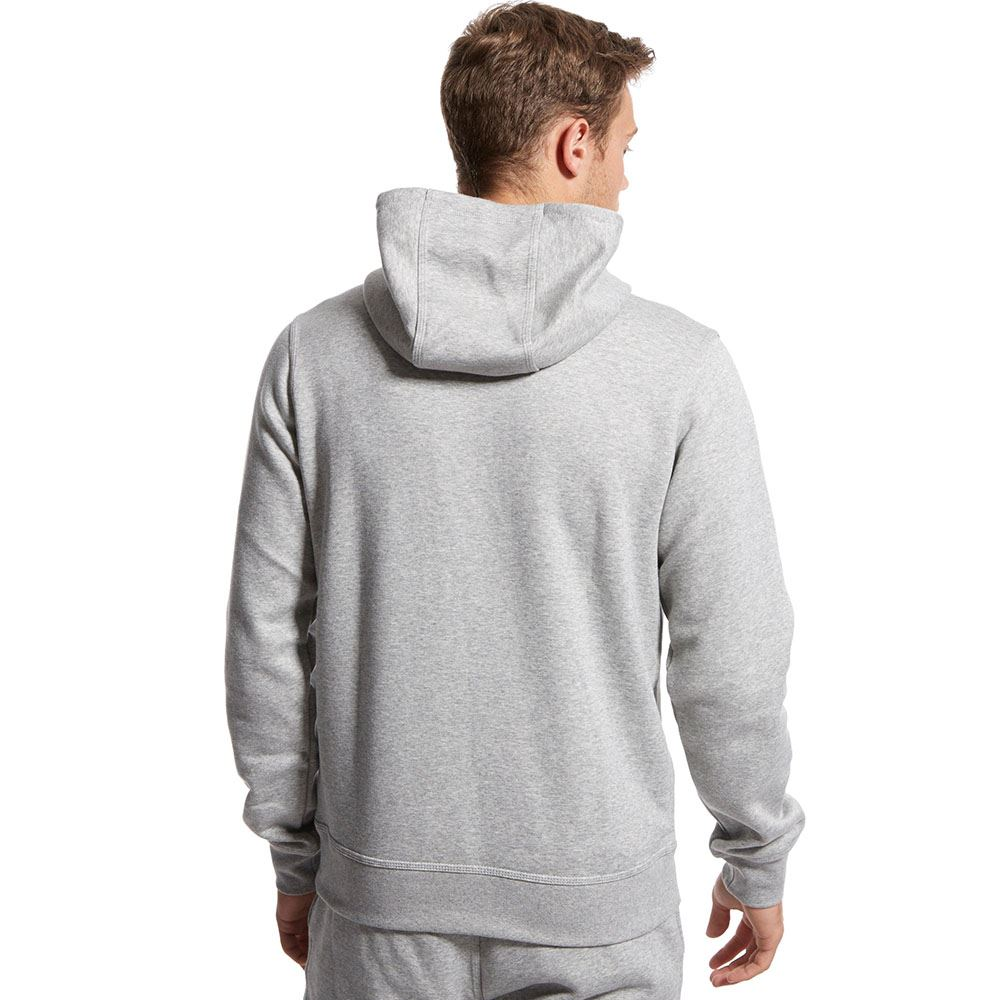 mens nike swoosh hoodie black navy grey fleece hoody hooded sweatshirt top new ebay. Black Bedroom Furniture Sets. Home Design Ideas