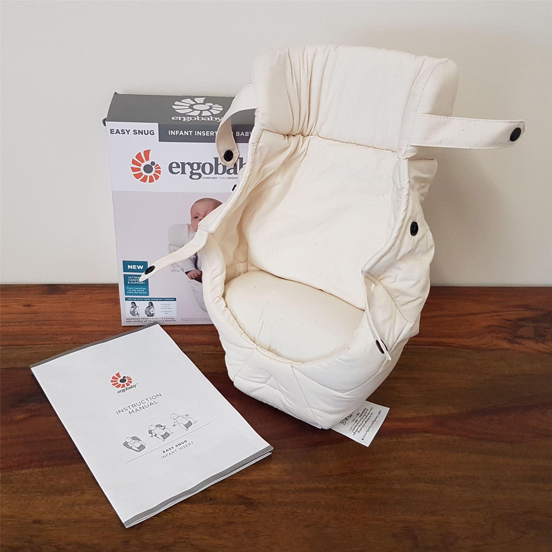ergobaby 360 newborn insert instructions