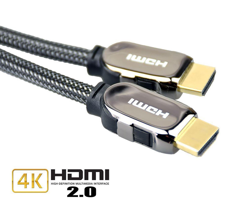 hdmi cable v2 0 premium flat hdtv 1080p 3d 4k ultra hd