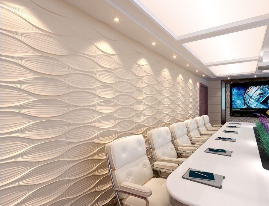 Bambus 3D Wandpaneel dekorativen Wandverkleidung Decke Fliesen ...