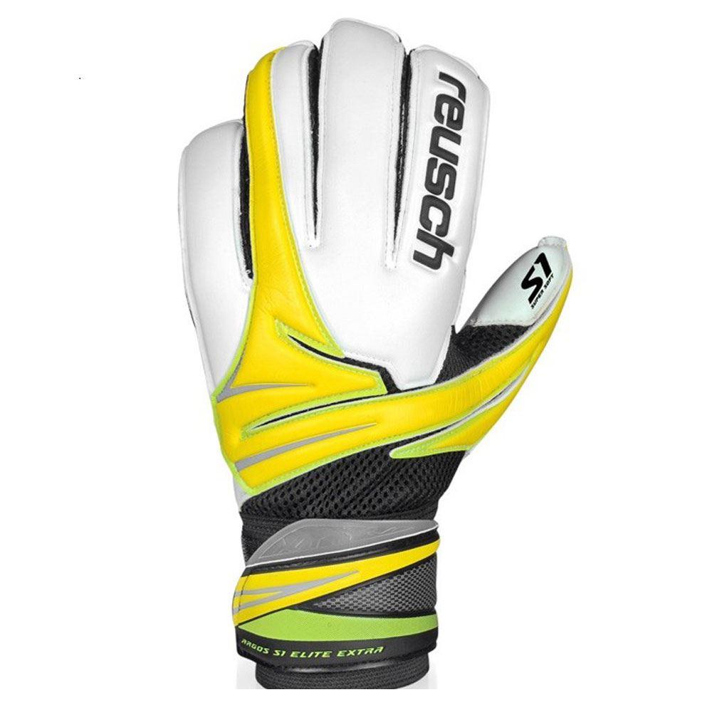 Fitness Gloves Argos: Reusch Argos S1 Elite Extra Flat Palm Mens Goalkeeper
