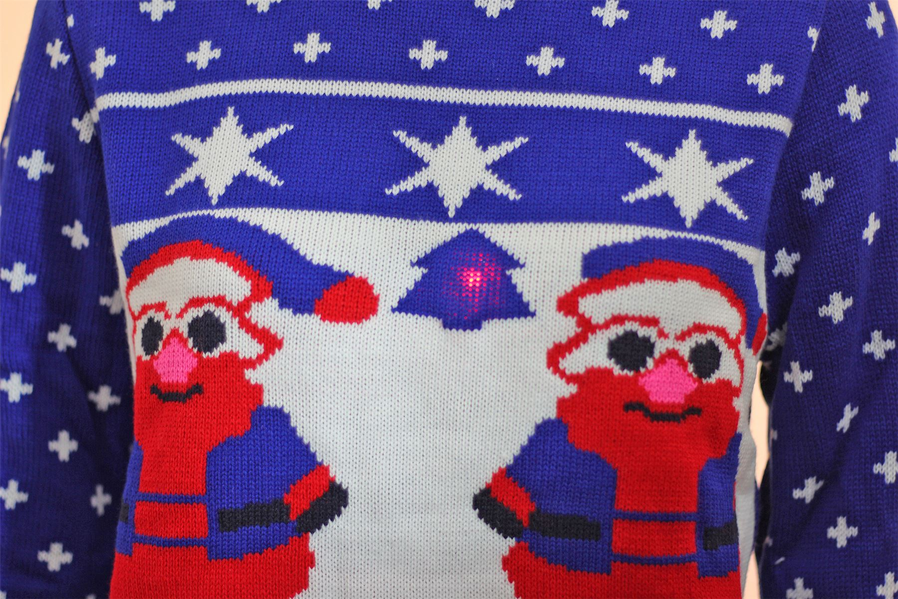 Unisex Ladies Mens Kids Christmas Knitted Jumpers Plus Size OLAF Minion Raind...