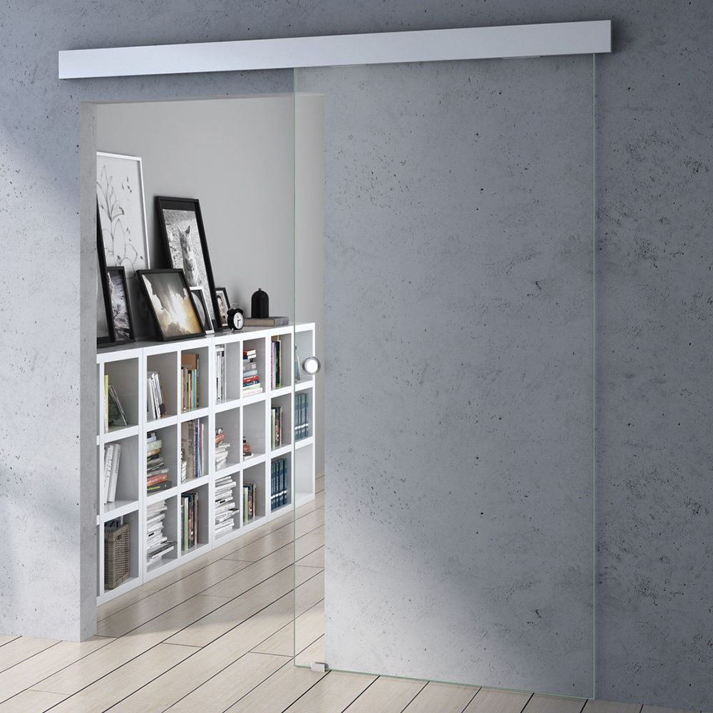 Ultra modern sliding glass door system interior internal - Living room sliding doors interior ...