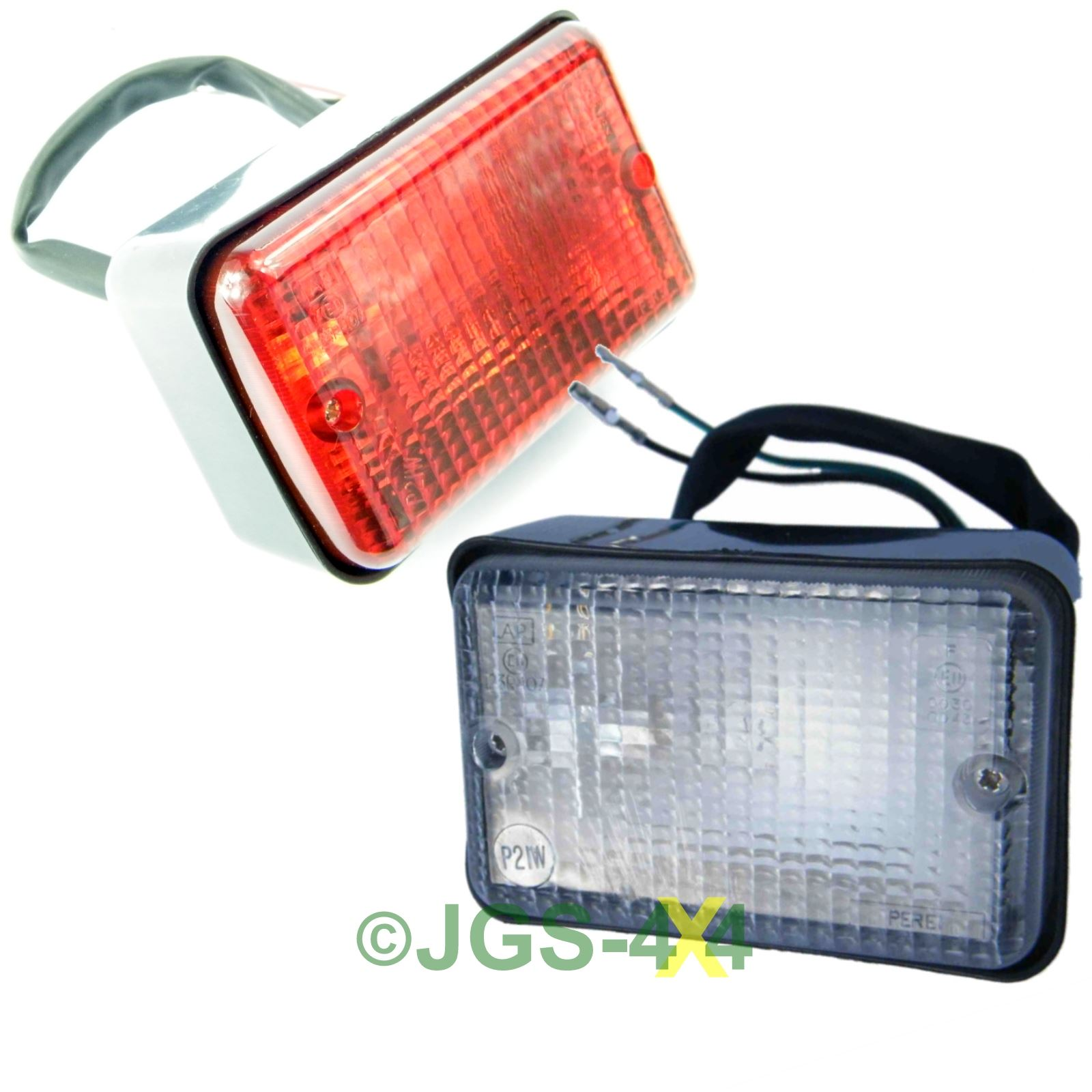 Land Rover Defender 90 110 Fog Amp Reverse Light Set