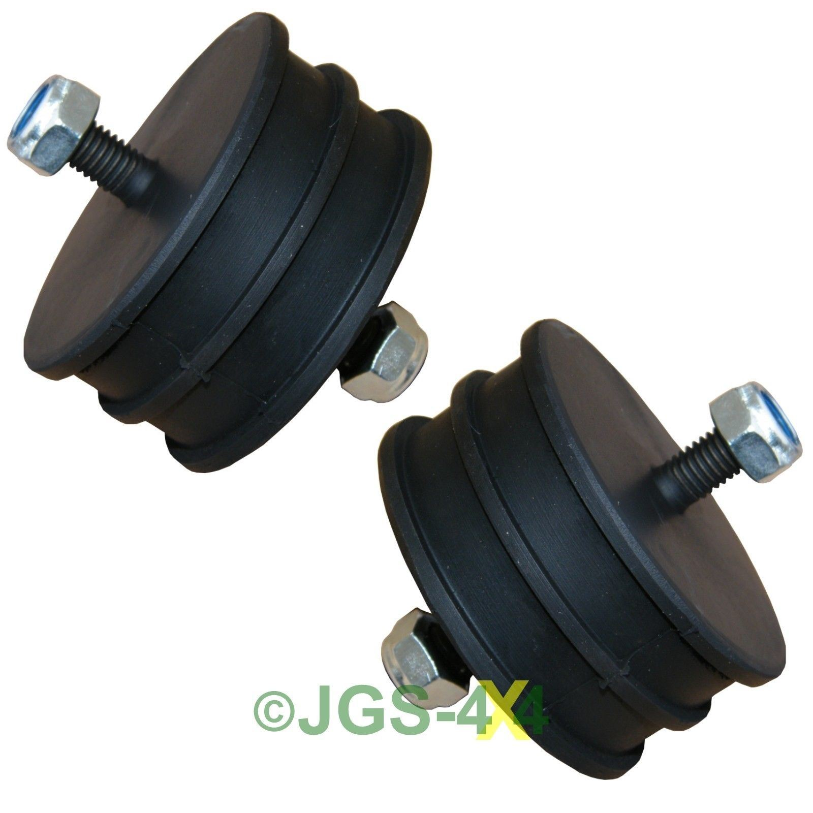 Land rover defender 90 110 engine mount mounting rubber x2 for Motor mount repair estimate