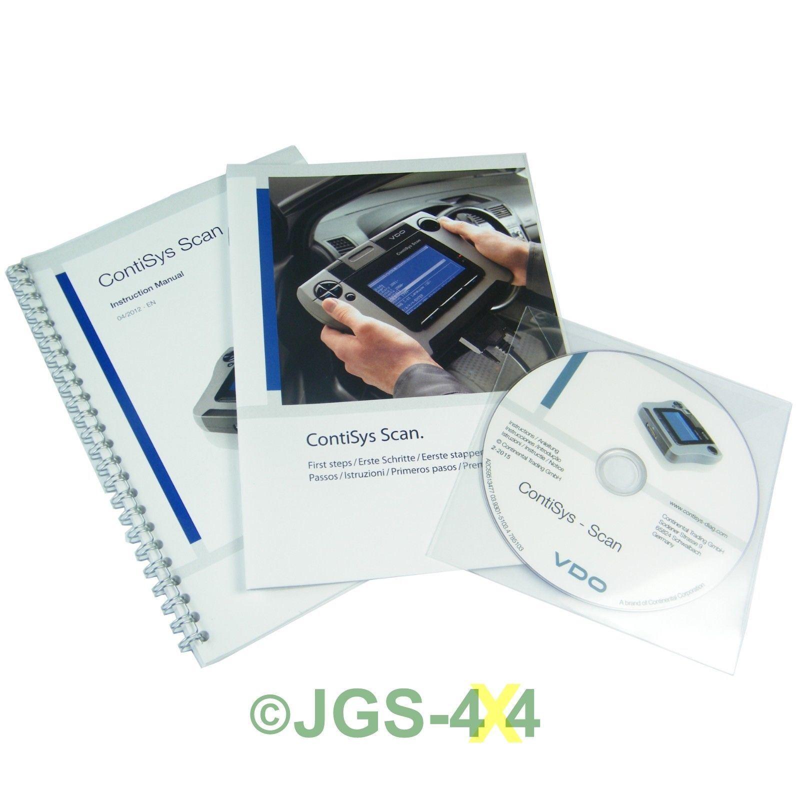 Vdo contisys scan diagnostic professionnel obd2 auto for Garage diagnostic auto gratuit