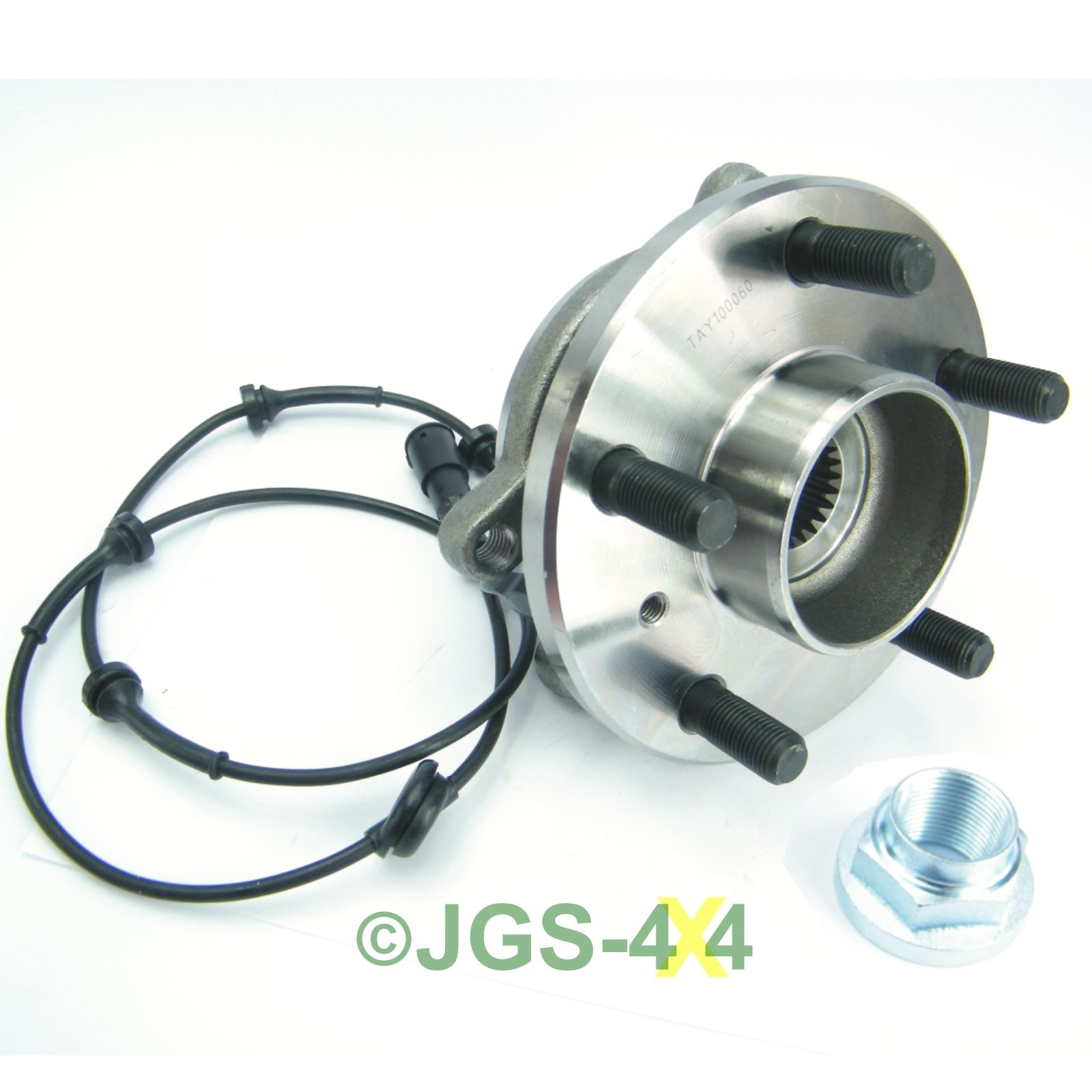 Land Rover Discovery 2 Range Rover P38 Rear Lhs N S: Land Rover Discovery 2 Front Wheel Bearing Hub Assembly
