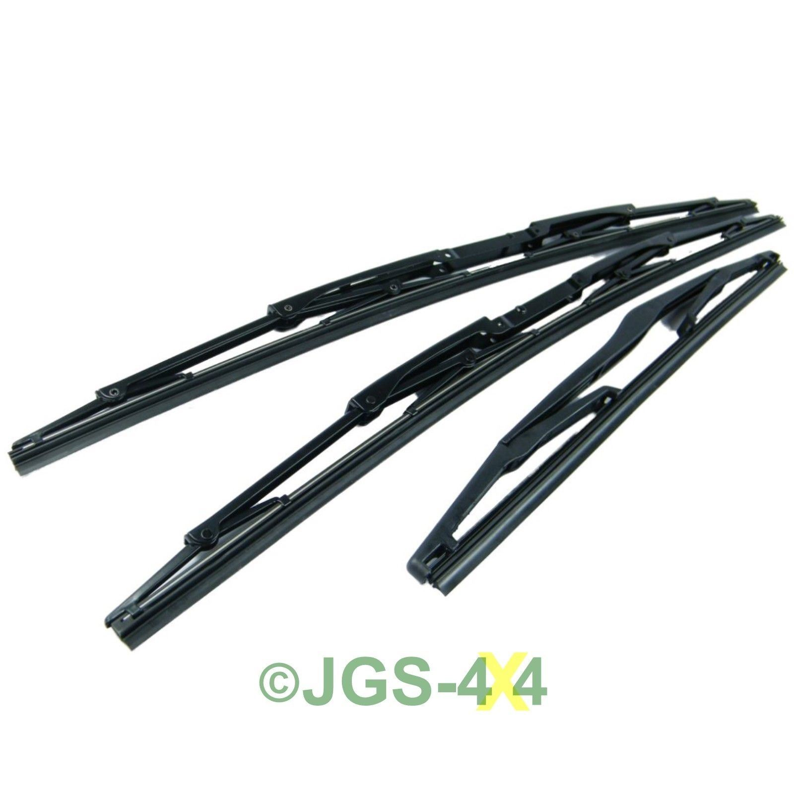 Land Rover Discovery 2 Windscreen Wiper Blade Set Front
