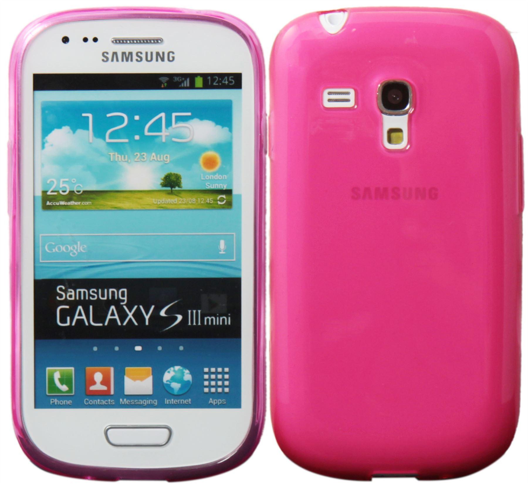 Nuevo dise o silicona funda cubierta recubrimiento para samsung galaxy s3 mini ebay - Fundas para s3 mini ...