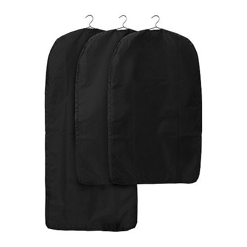 ikea skubb 3x clothes suit garment bag dress protector