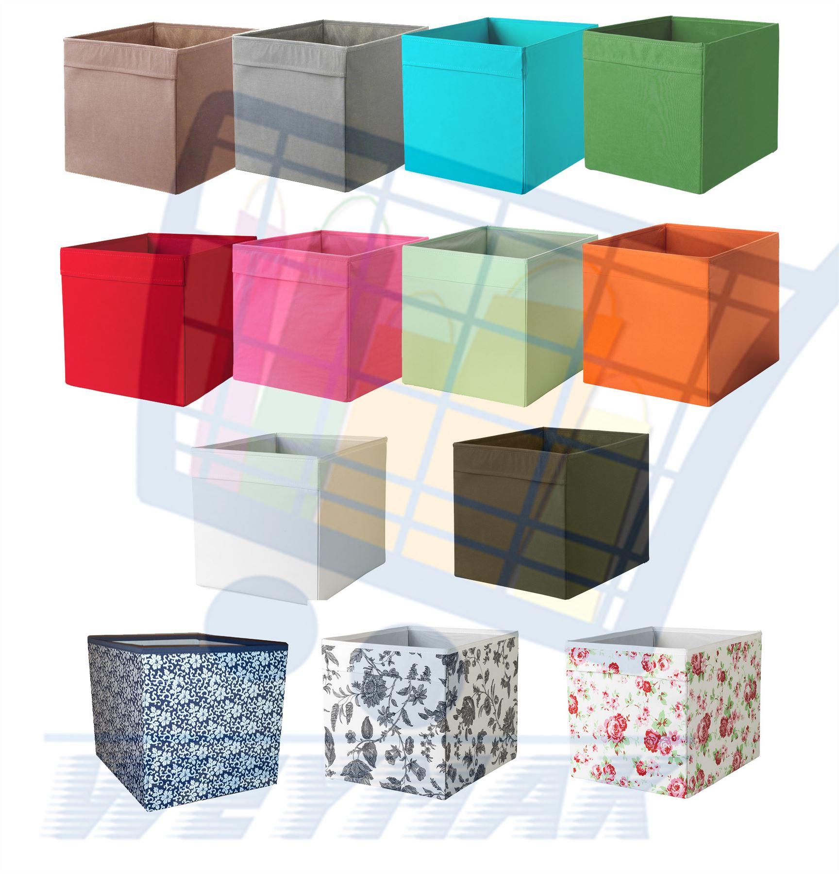 ikea drona box fabric storage boxes fits expedit. Black Bedroom Furniture Sets. Home Design Ideas