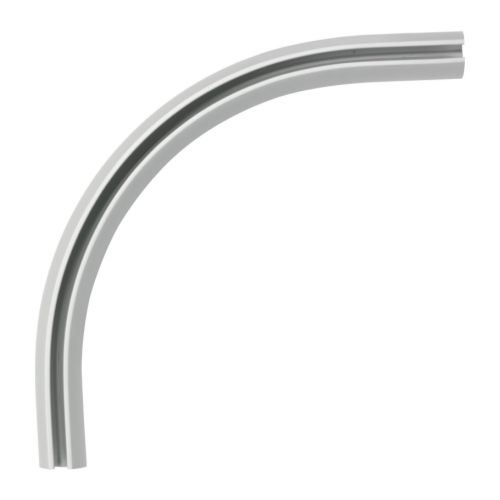 ikea kvartal curtain rail track gliders hooks fittings for window dressings ebay. Black Bedroom Furniture Sets. Home Design Ideas