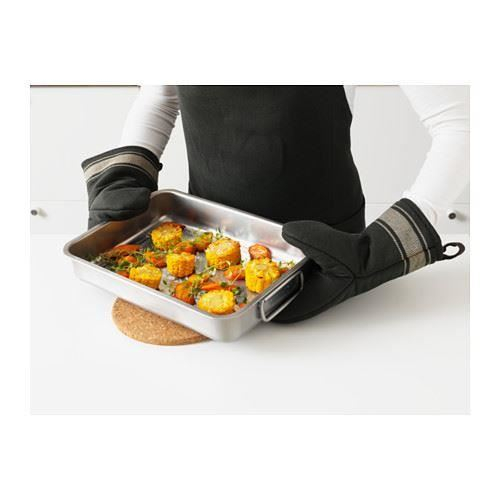 ikea koncis roasting tins with or without grill rack stainless steel pans ebay. Black Bedroom Furniture Sets. Home Design Ideas