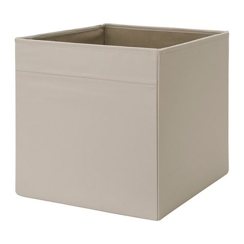 Ikea drona box fabric storage expedite kallax shelving boxes magazine toys bo - Ikea panier rangement ...
