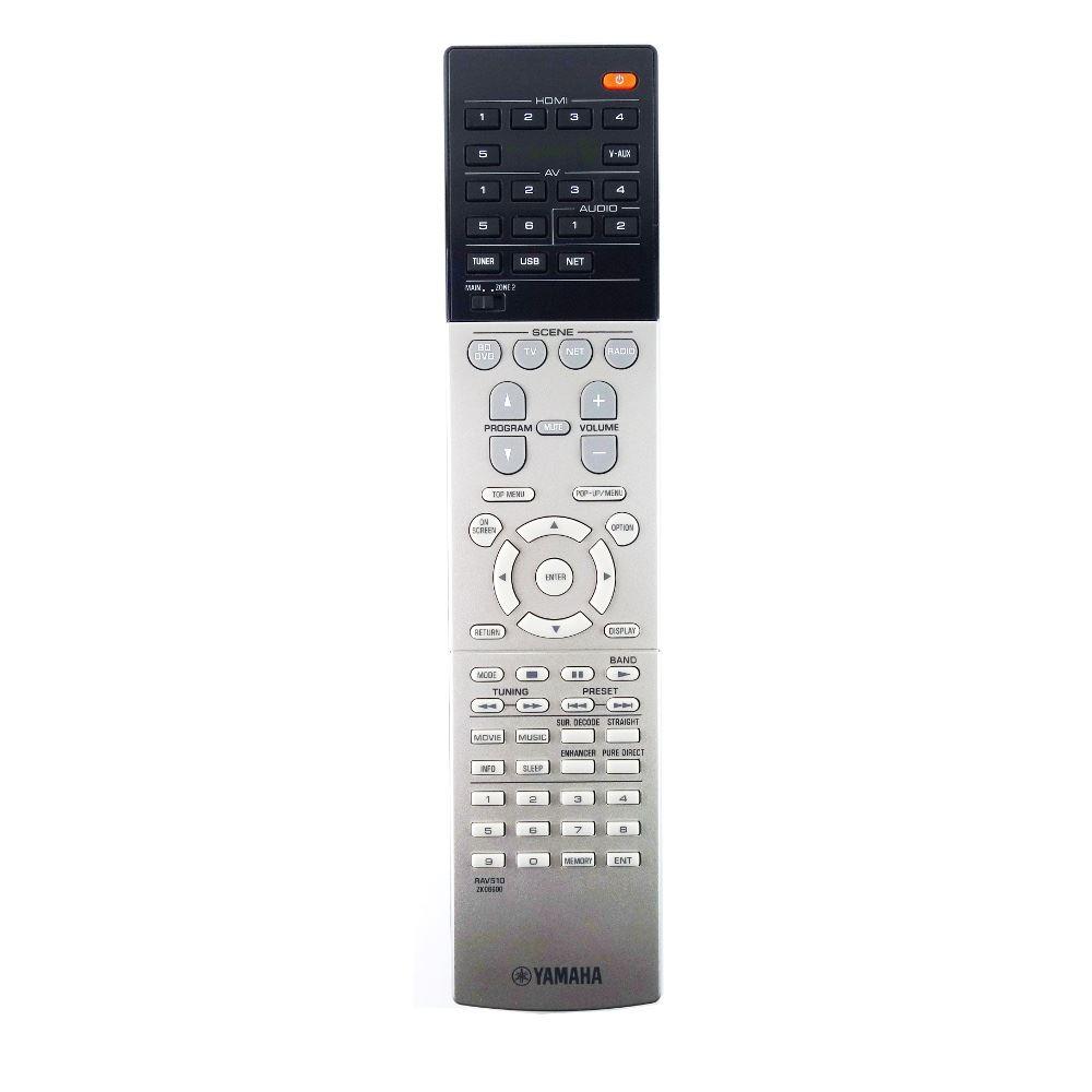 Genuine yamaha rx v677 av receiver remote control ebay for Yamaha remote control app
