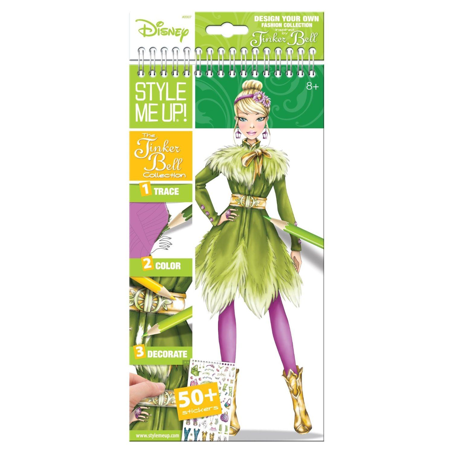 Style Me Up The Tinker Bell Collection Sketch Book Ebay