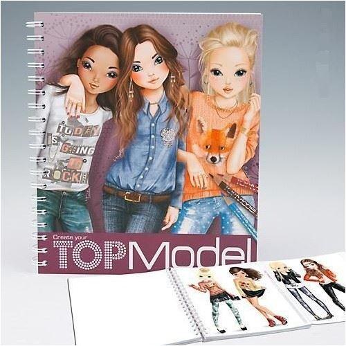 topmodel girls creative fashion design activity and