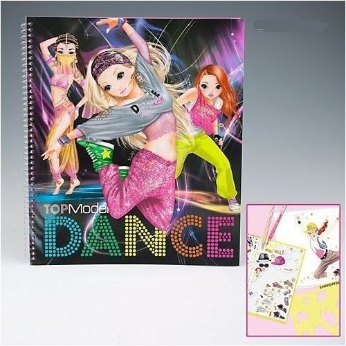 TOPModel Girls Creative Fashion Design Activity and Colouring Books Depesche | eBay