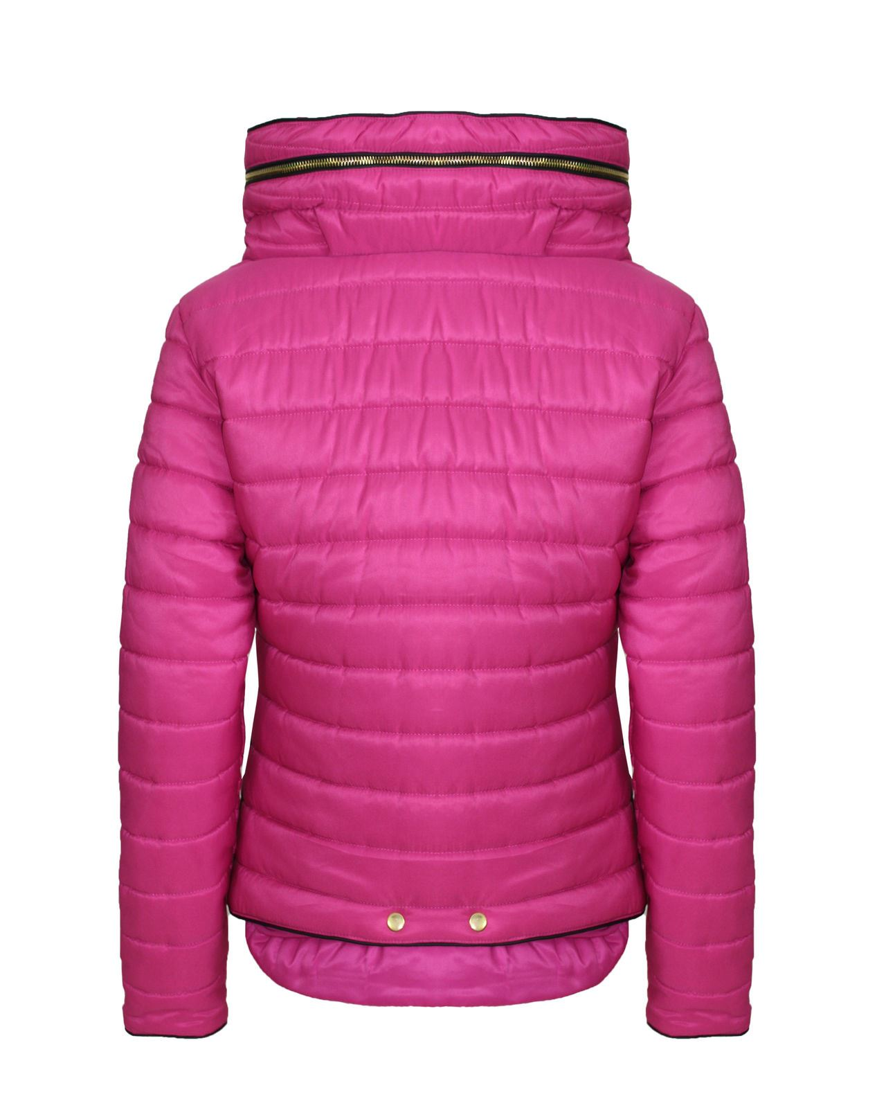 Womens padded jacket with hood