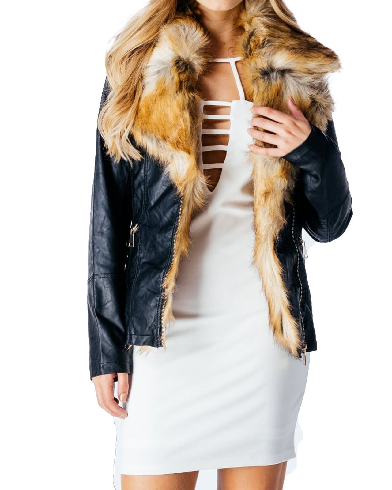 Find Faux fur from the Womens department at Debenhams. Shop a wide range of Coats & jackets products and more at our online shop today. Multicoloured tartan print faux fur collar coat Save. Was £ Now £ Yumi Black faux fur coat Save. Was £ Now £