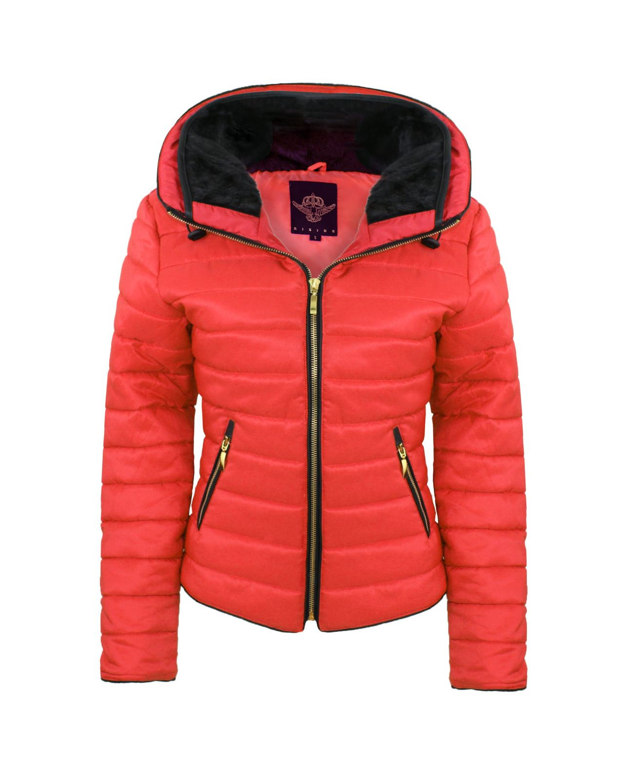 Bubble coat for women