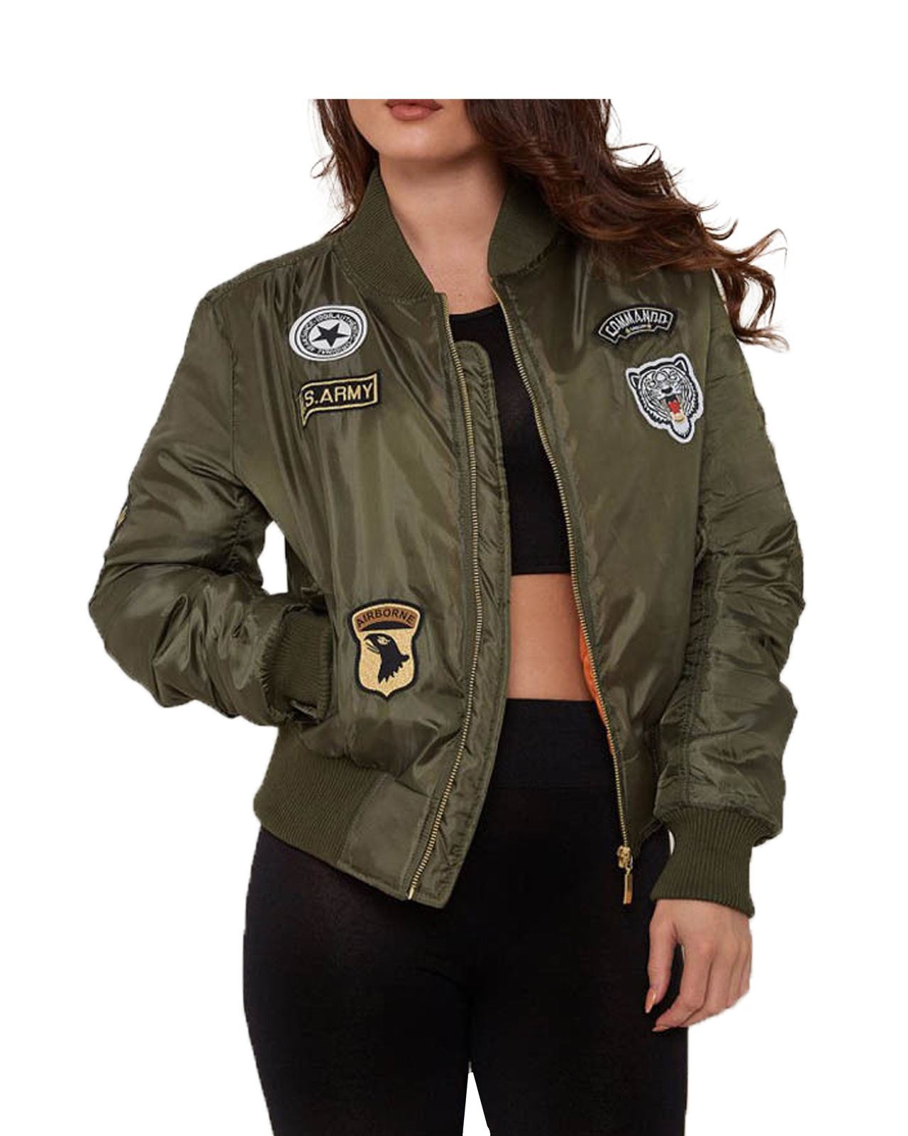Army coats for women