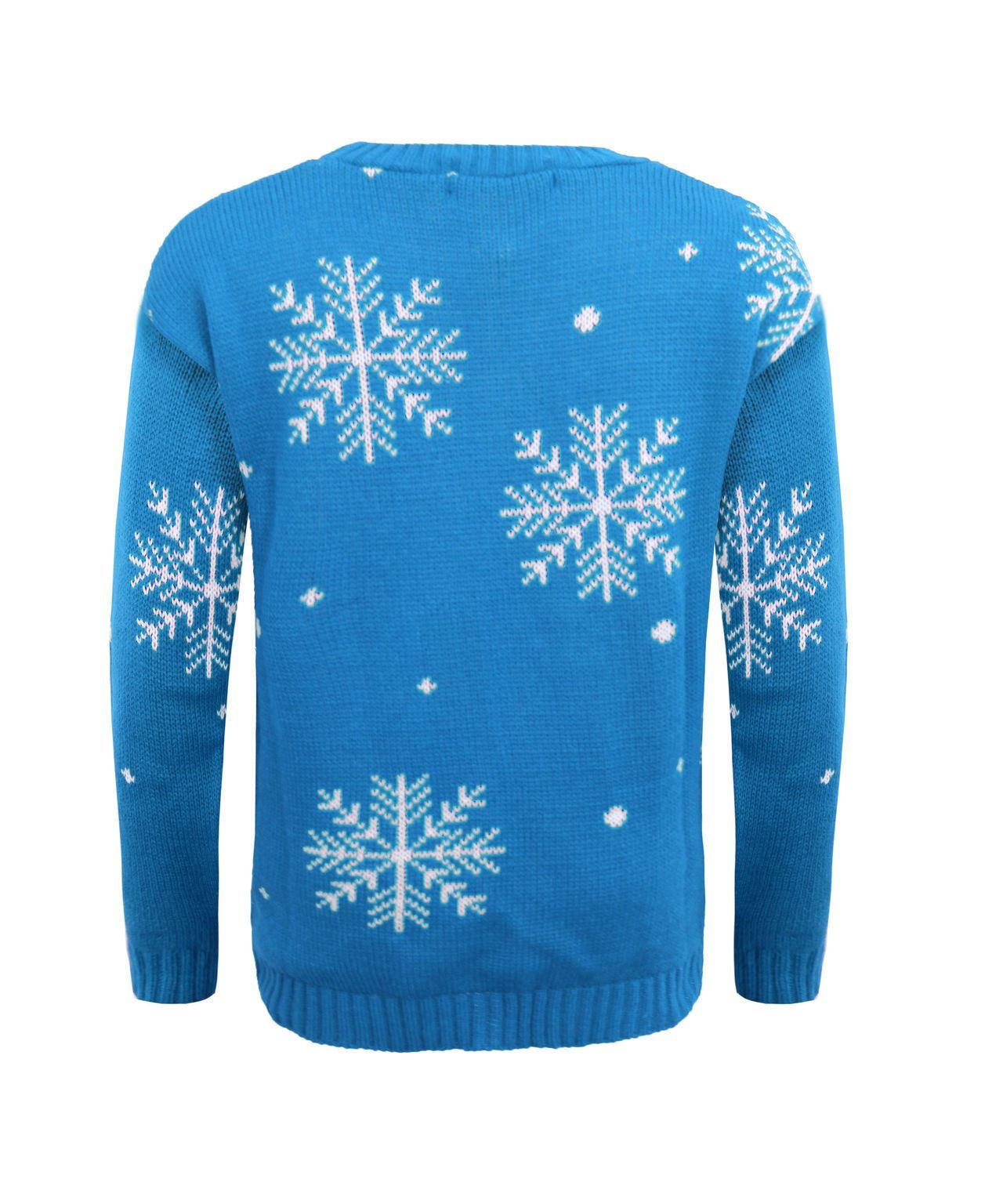 NEW Kids Knitted I Like Warm Hugs Olaf Christmas Xmas ...